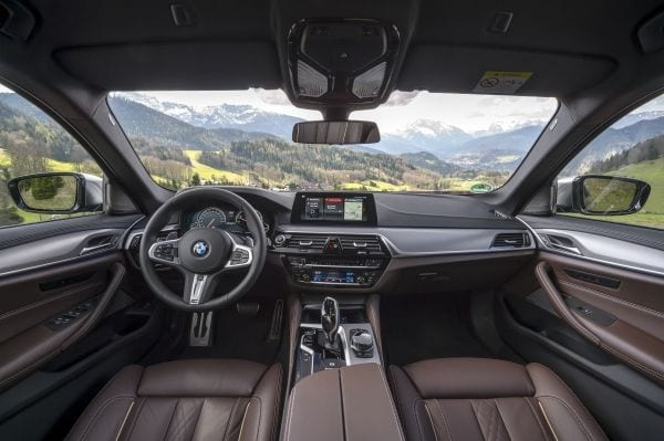 BMW M550i X Drive Interior South Africa